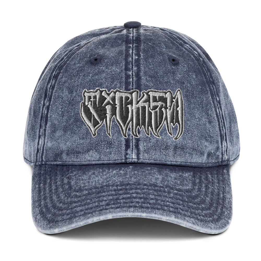 SICKEN Vintage Cotton Twill Cap - SICKEN