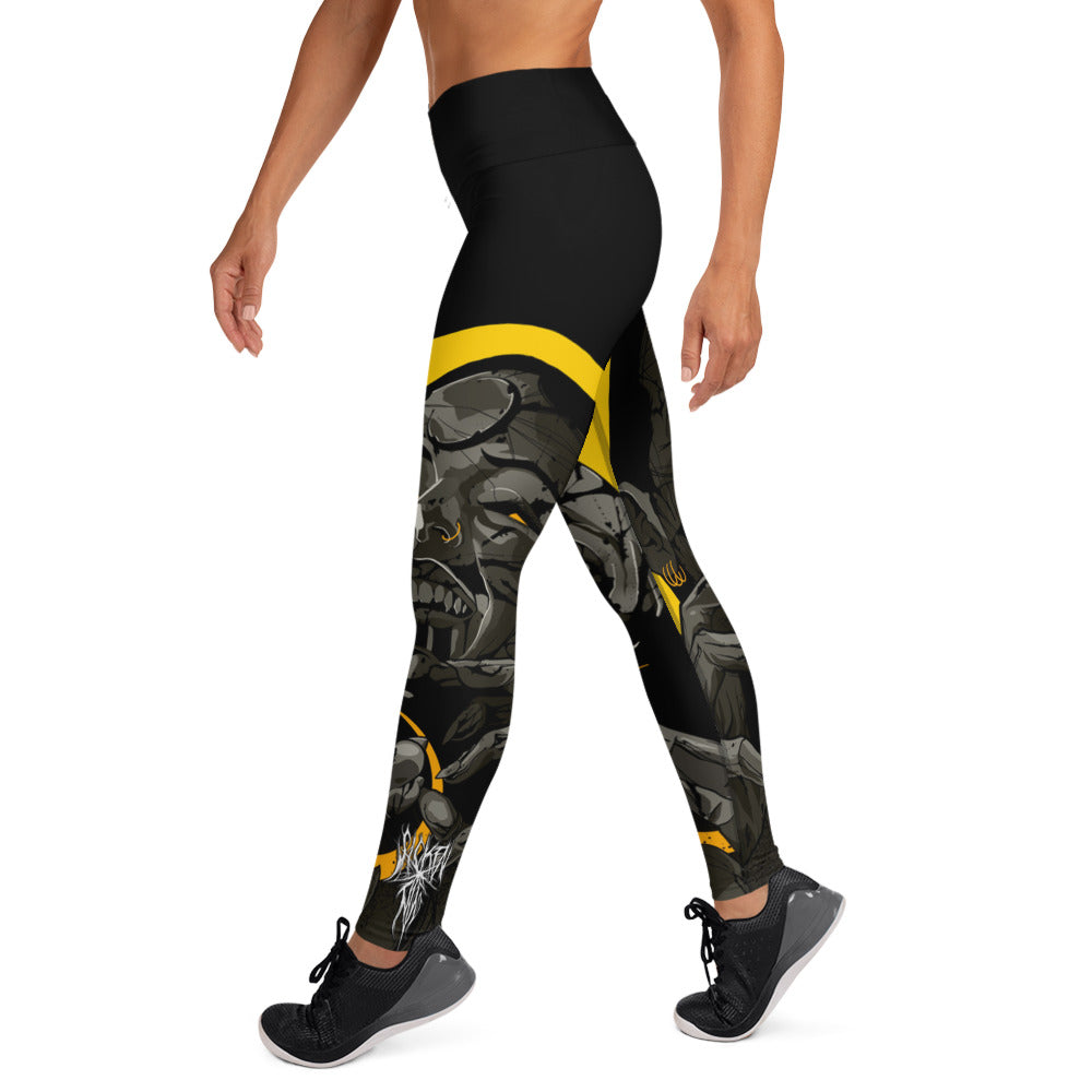 Vampire Eclipse Women's Yoga Leggings - SICKEN