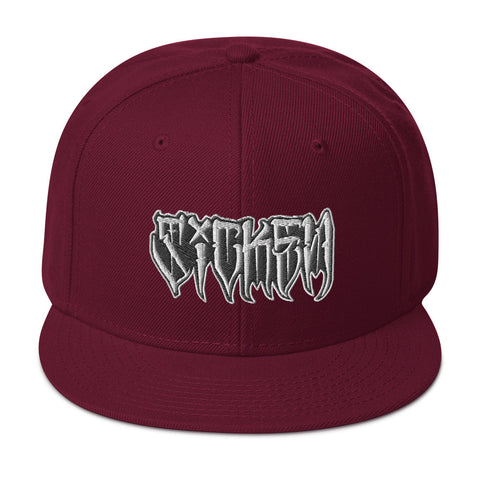 SICKEN Snapback Hat - SICKEN