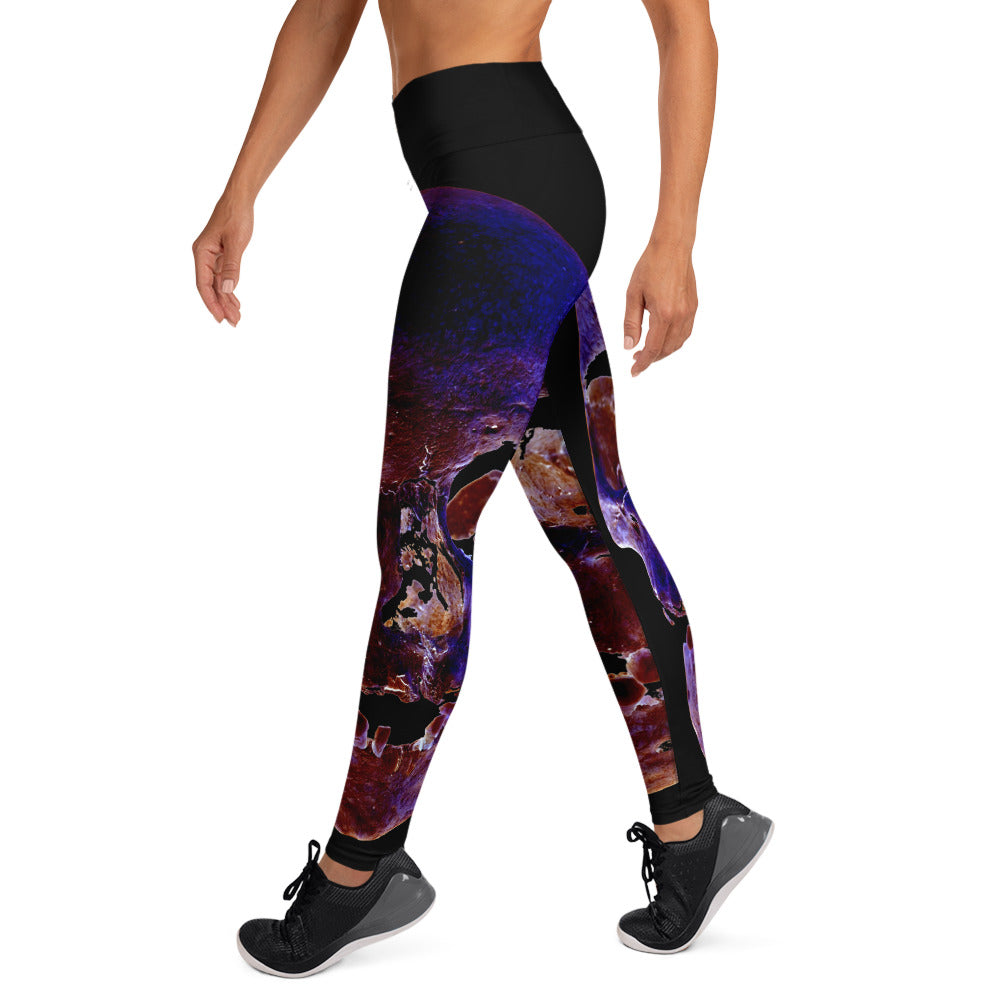 Forever Young Women's Yoga Leggings - SICKEN