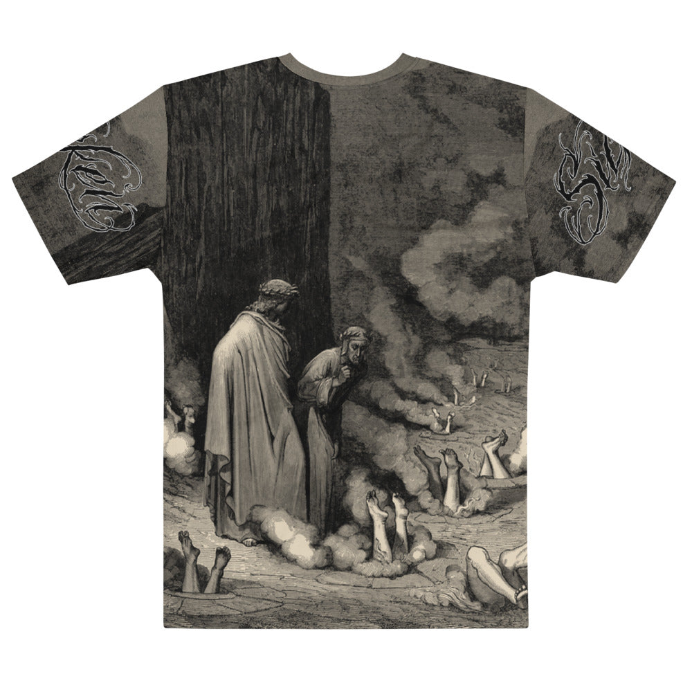 Unfortunate Men's Sublimation Tee - SICKEN