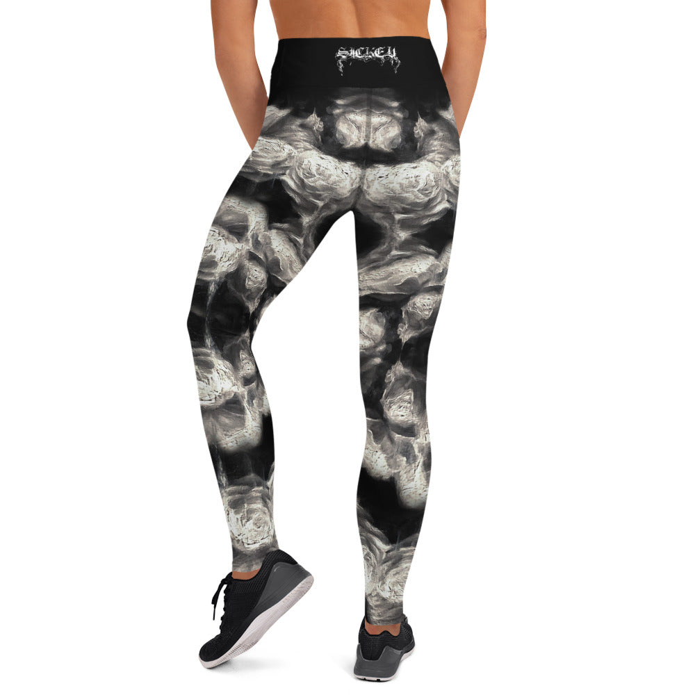 Ghost Rose Women's Yoga Leggings