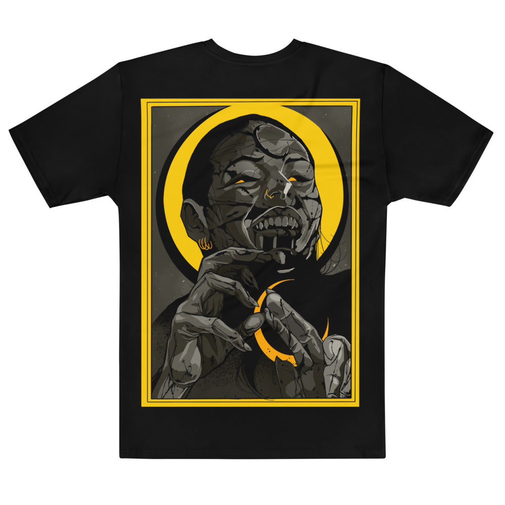 Vampire Eclipse Men's Sublimation Tee - SICKEN