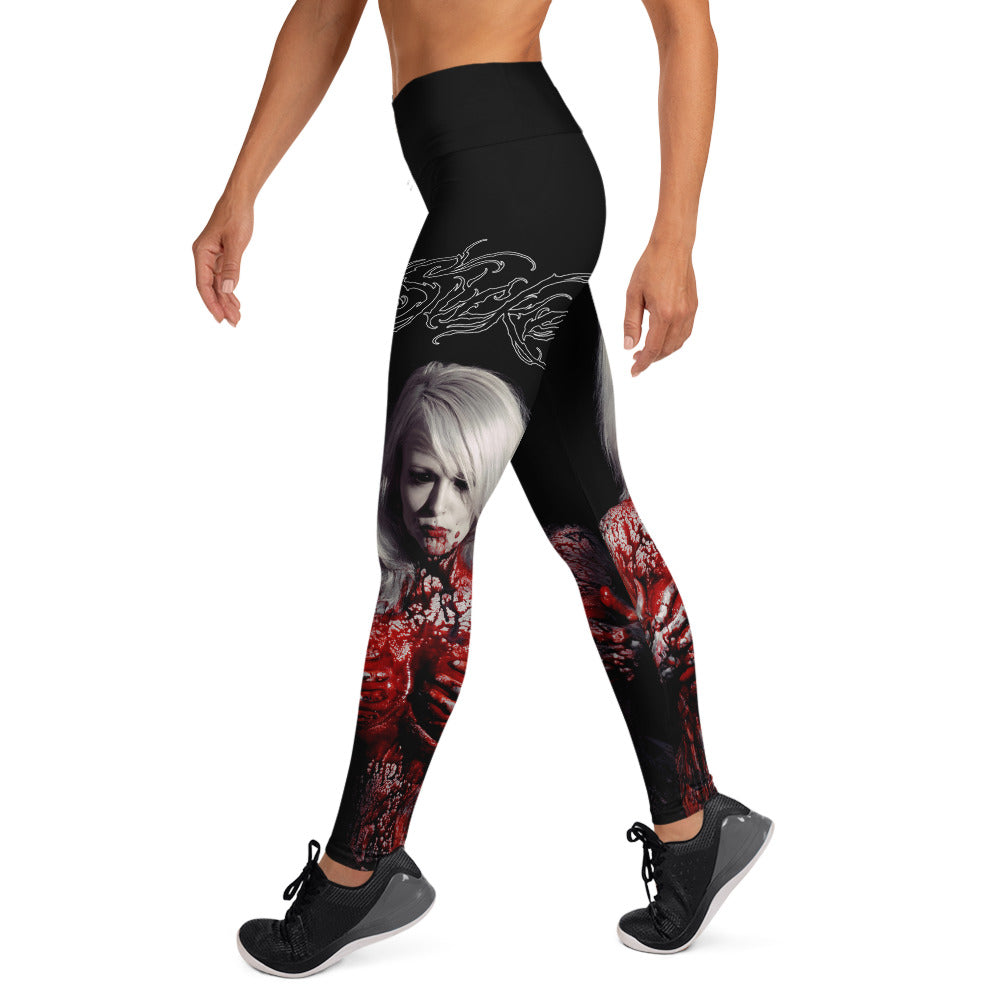 Malibu Blood Women's Yoga Leggings - SICKEN