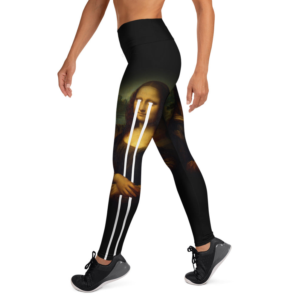 Mona Lisa Women's Yoga Leggings - SICKEN