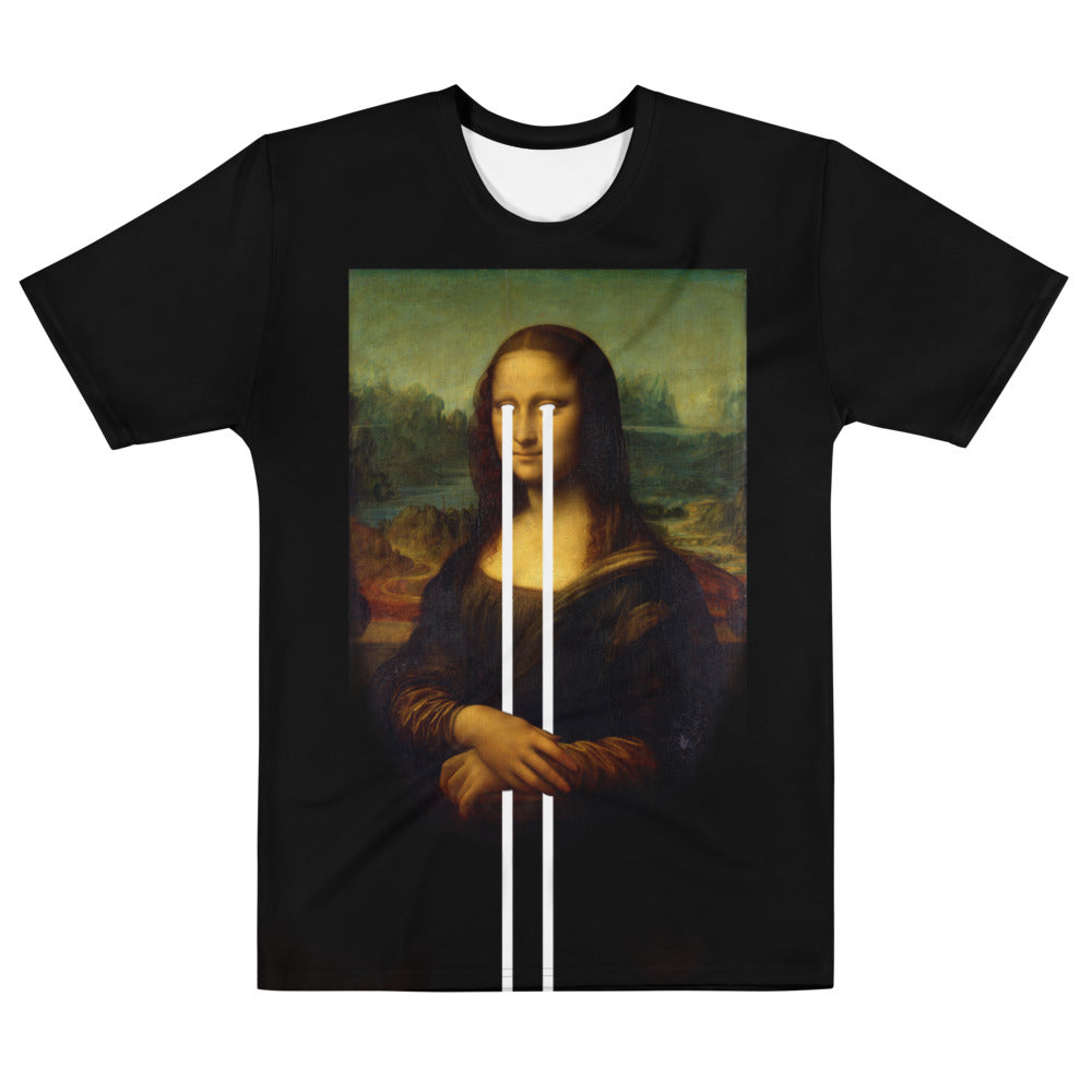 Mona Lisa Men's Sublimation Tee - SICKEN
