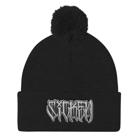 SICKEN Pom-Pom Knit Cap - SICKEN