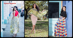 Latina model Veronica, styled by TCC Boutique for iFashion Magazine