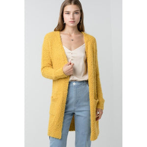 CRAVEN OPEN FRONT CARDIGAN