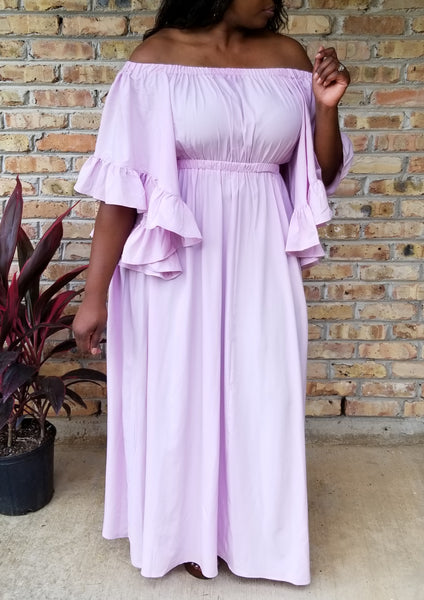 Crown Royalty Maxi Dress