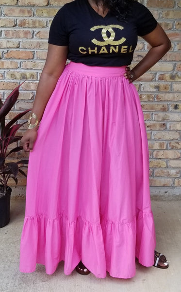 Christy Full Flow Maxi Skirt