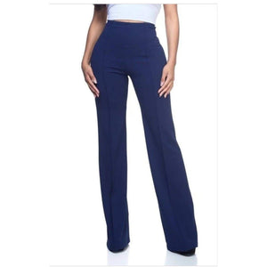 CHAOS HIGH WAIST PANTS-Bottoms-S-Berry-