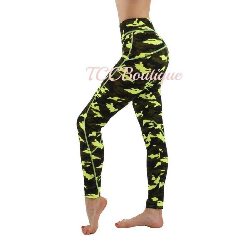 COMMITTED CAMO WORKOUT PANT-Active Wear-CAMO S/M-