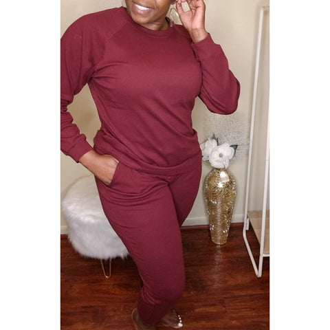 Relax and Renew Pullover 2-Piece Set