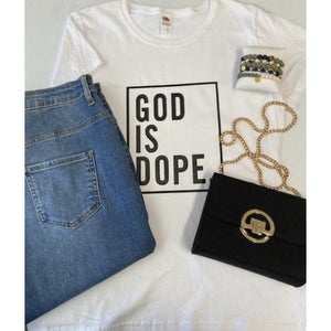 GOD IS DOPE - Expression Tee