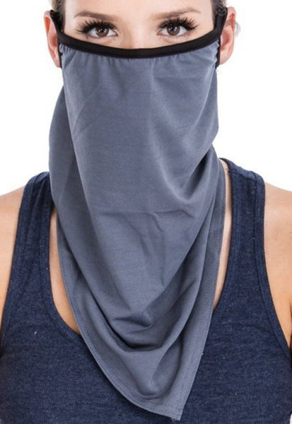 Sleek Breathable Long Face Mask
