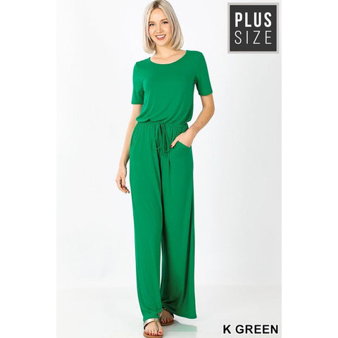 Christie Summer Jumpsuit Plus