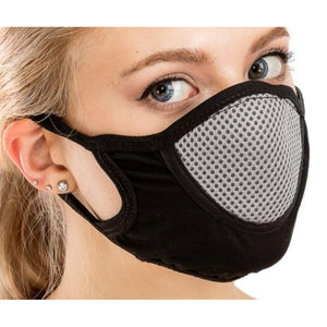 Slim Mesh Face Mask