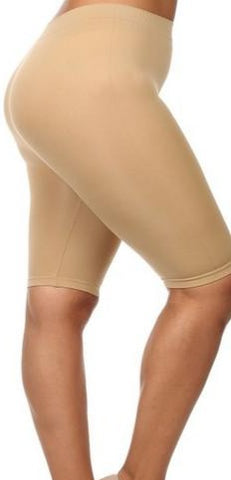 CURVY MID-CALF SHAPERS-Bottoms-Black-