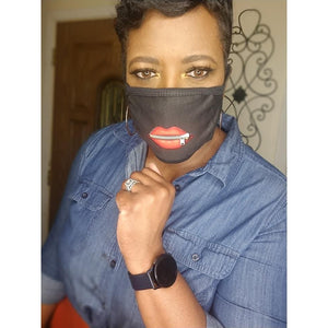 "KEISHA-""Zip It Up"" Mask"