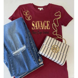 SAVAGE - Expression Tee