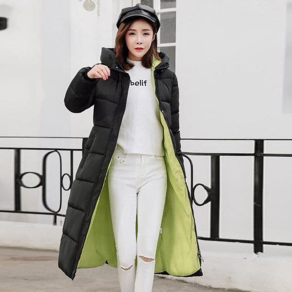 Winter Hooded Overcoat