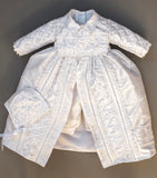 Christening Gown Burbvus B001 White color