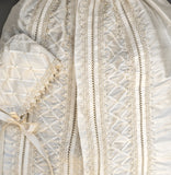 Handmade Christening outfit by Burbvus B001