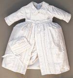 Christening Gown B003 Handmade Burbvus Color White