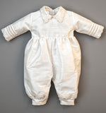 Christening Gown B00 Handmade Burbvus, Jumper Details without the Cape