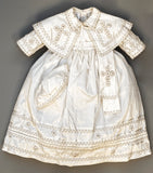 Pope Style Christening Gown B011, Handmade