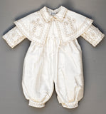 B011 Christening Gown With Cape and jumper