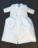 Burbvus Christening Gown B015 in White Color