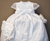 White G005 Baptisim Dress