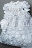 White Baptism Dress G016