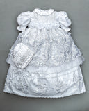White Christenign Gown G016