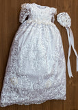 BURBVUS CHRISTENING DRESS G025