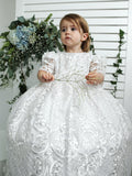 Heirloom Christening gown baby girls Burbvus G025