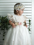 baptism dress burbvus g026