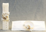 Square Handcrafted Ivory Candle kit #12