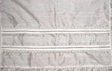 Close up details in our Baptism Burbvus blanket B009