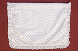 Christening Embroidered baby blanket