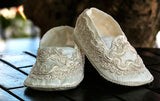 Handmade baptism Ivory Baby Toddler Shoes B003