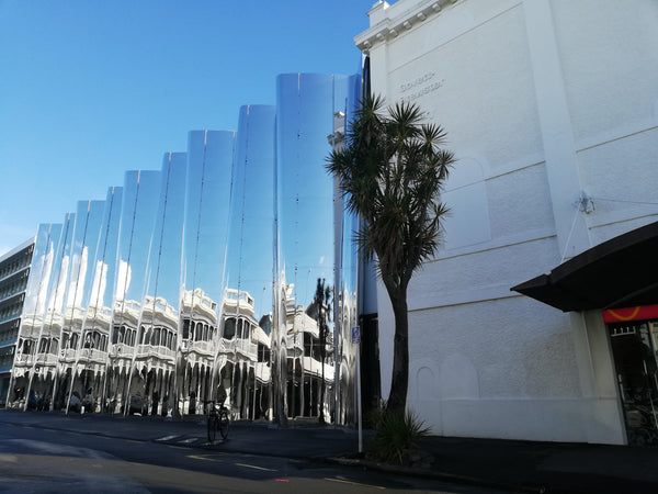 The Govett-Brewster Gallery in New PLymouth