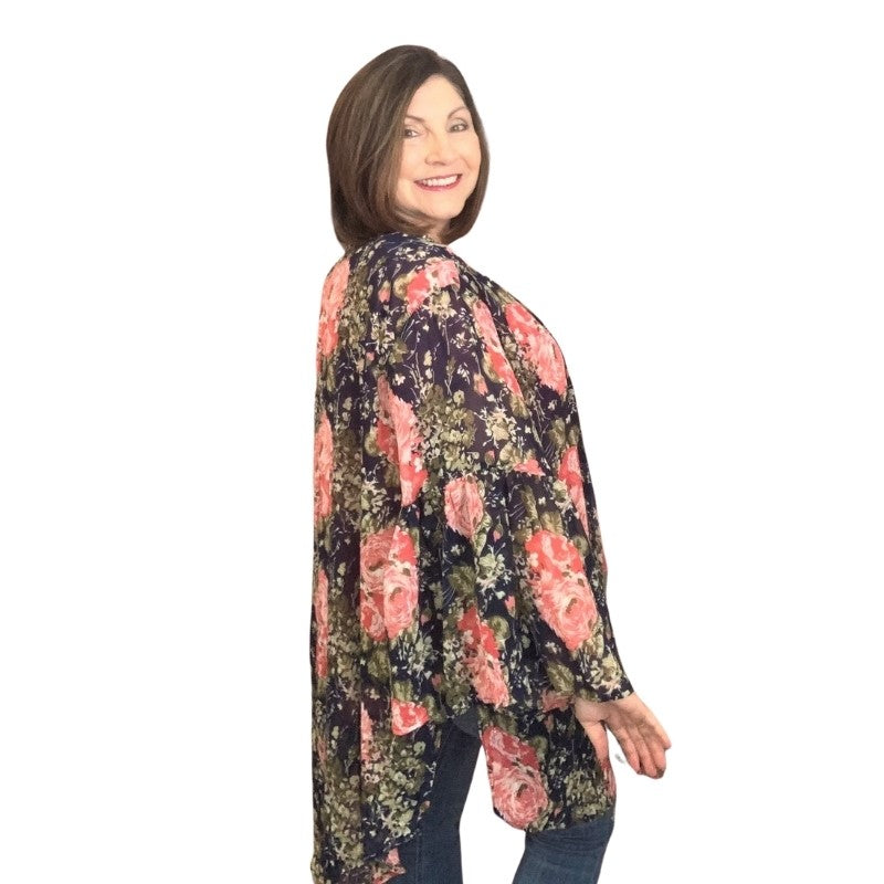 Nothing But Flowers Kimono