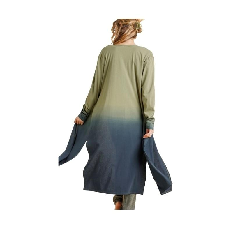 Evergreen Ombre Cardigan - Charmingly Unique Boutique