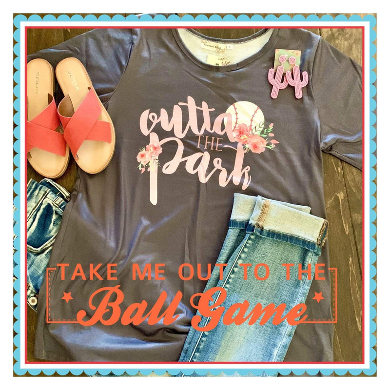 Outta The Park Tee - Charmingly Unique Boutique