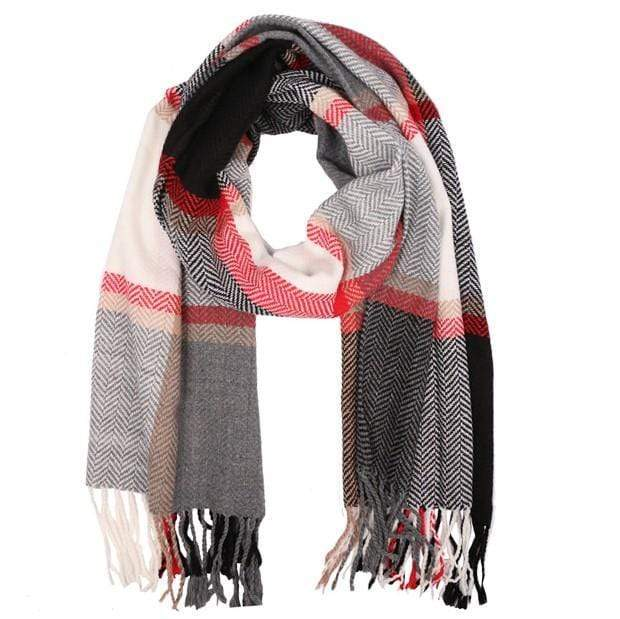 Plaid Scarves - Charmingly Unique Boutique