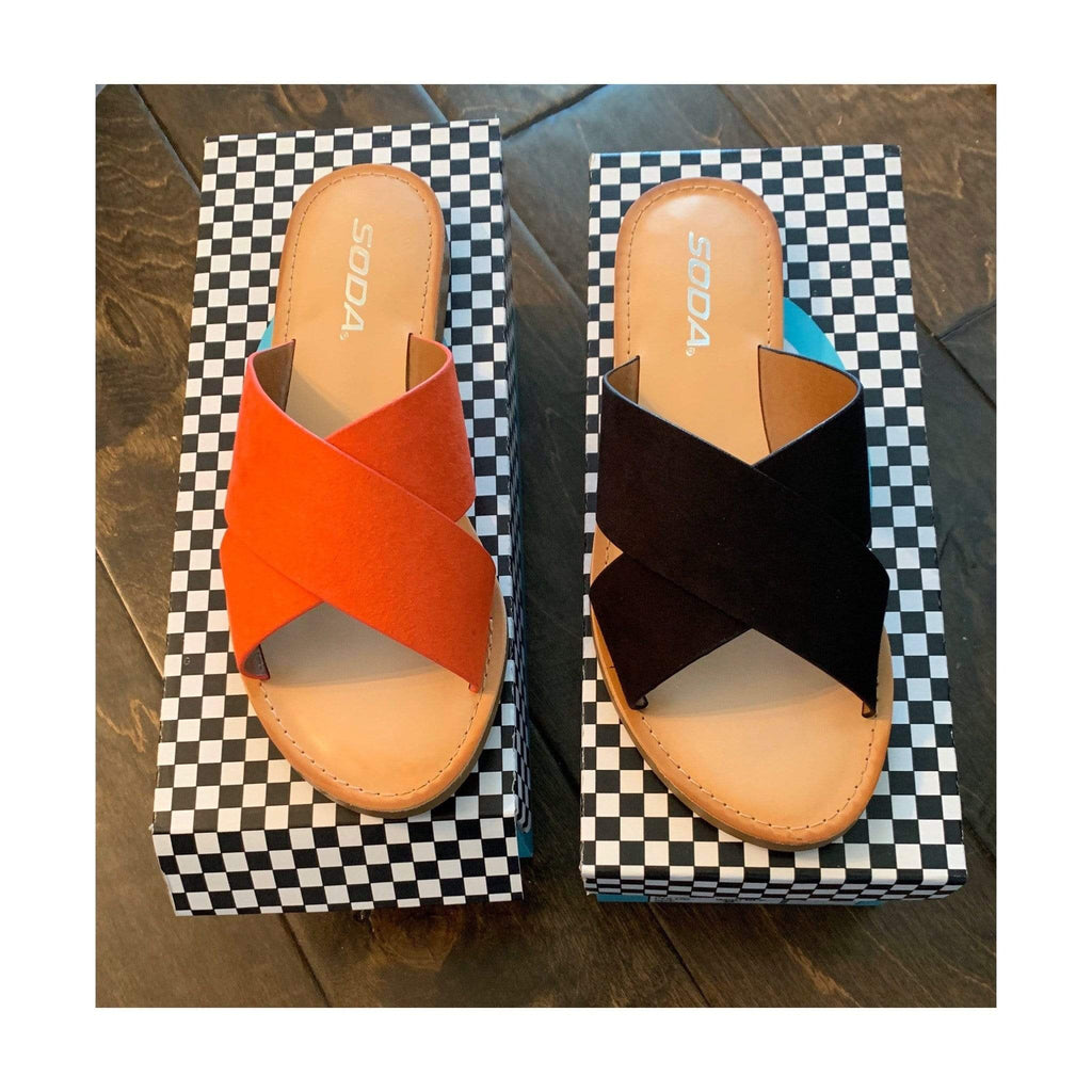 Walk On The Beach Sandals - Charmingly Unique Boutique