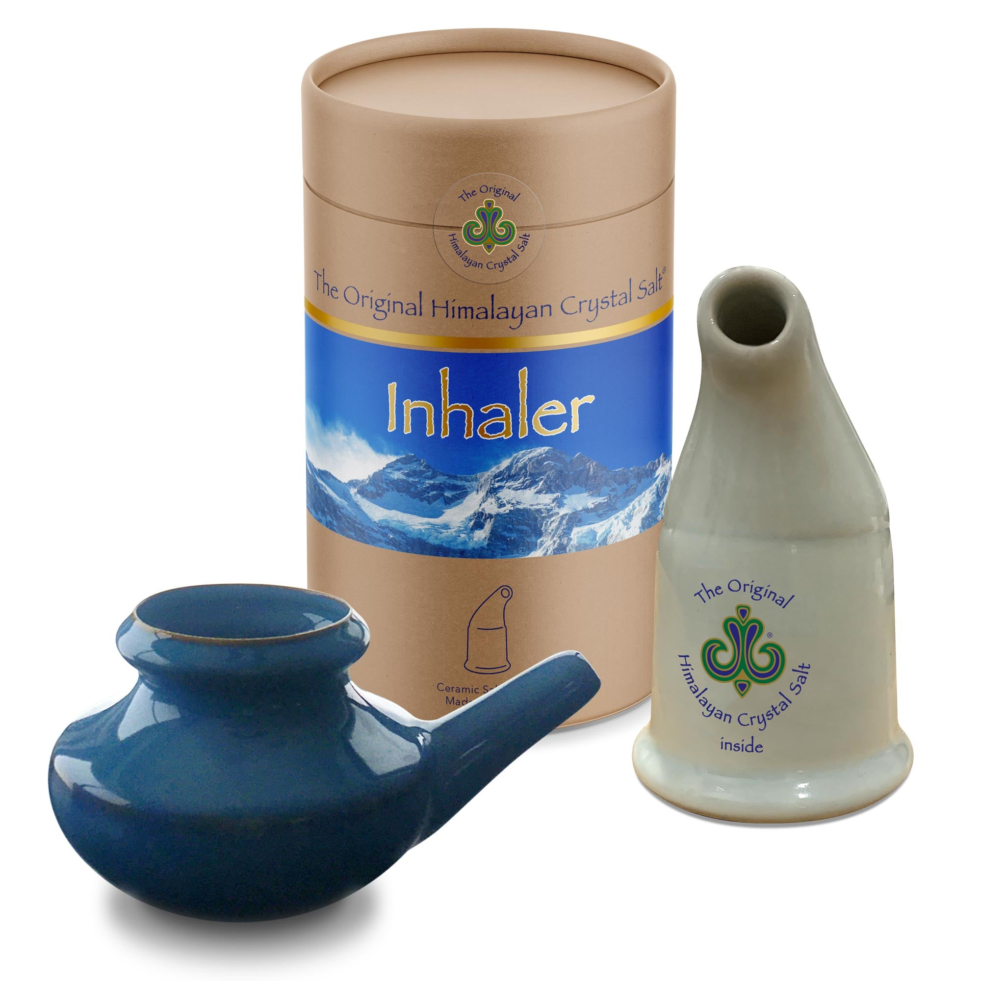 Inhaler + Neti Pot